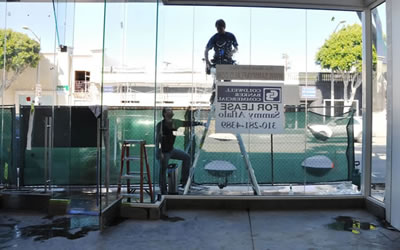 Security Window Film Installation For Commercial Windows In Santa Monica CA